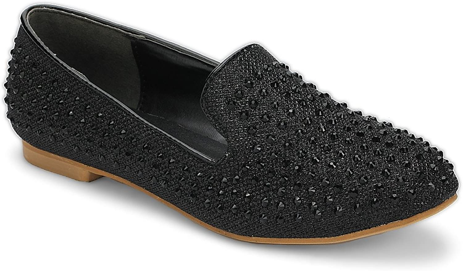 Helens Heart Slip into Our Ballet Flats, Featuring a Slip-on Style & Glitter Details