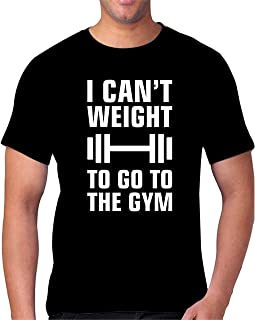FMstyles I Can't Weight to go to GYM Tshirt - FMS98