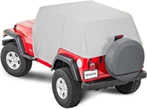 MasterTop 11110009 Gray Jeep Cab Cover