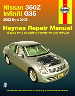 Nissan 350Z & Infiniti G35, 2003-2008 (Haynes Repair Manual)