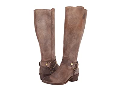 Frye Carson Harness Tall (Chocolate Extended) Women