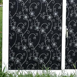 18x79inch GX/&XD Film pour fen/être vitrophanie /Électricit/é Statique Toilettes Light Opaque Bain imperm/éable-A 45x200cm