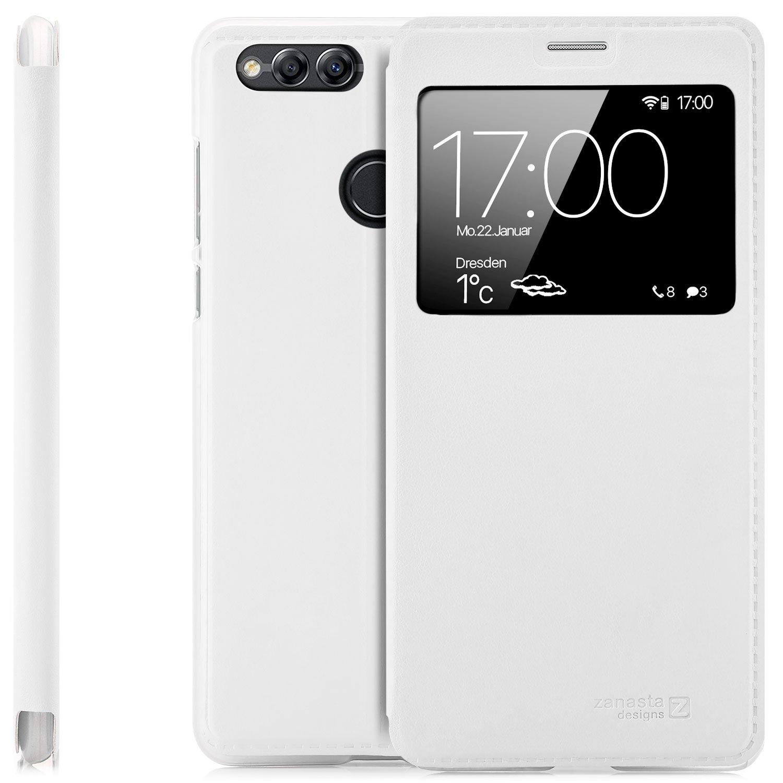 Zanasta Designs Funda Huawei Honor 7 x Case Funda Flip View Cover ...