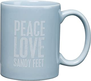 Beach House Blue - Coffee Tea Mugs