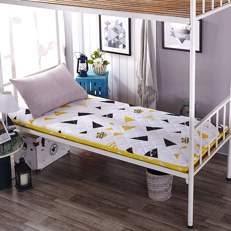 Student Dormitory Folding Mattress,Tatami Mattress,Padded Pad,Warm Single Breathable Non-Slip Dormitory-a 90x200cm(35x79inch)