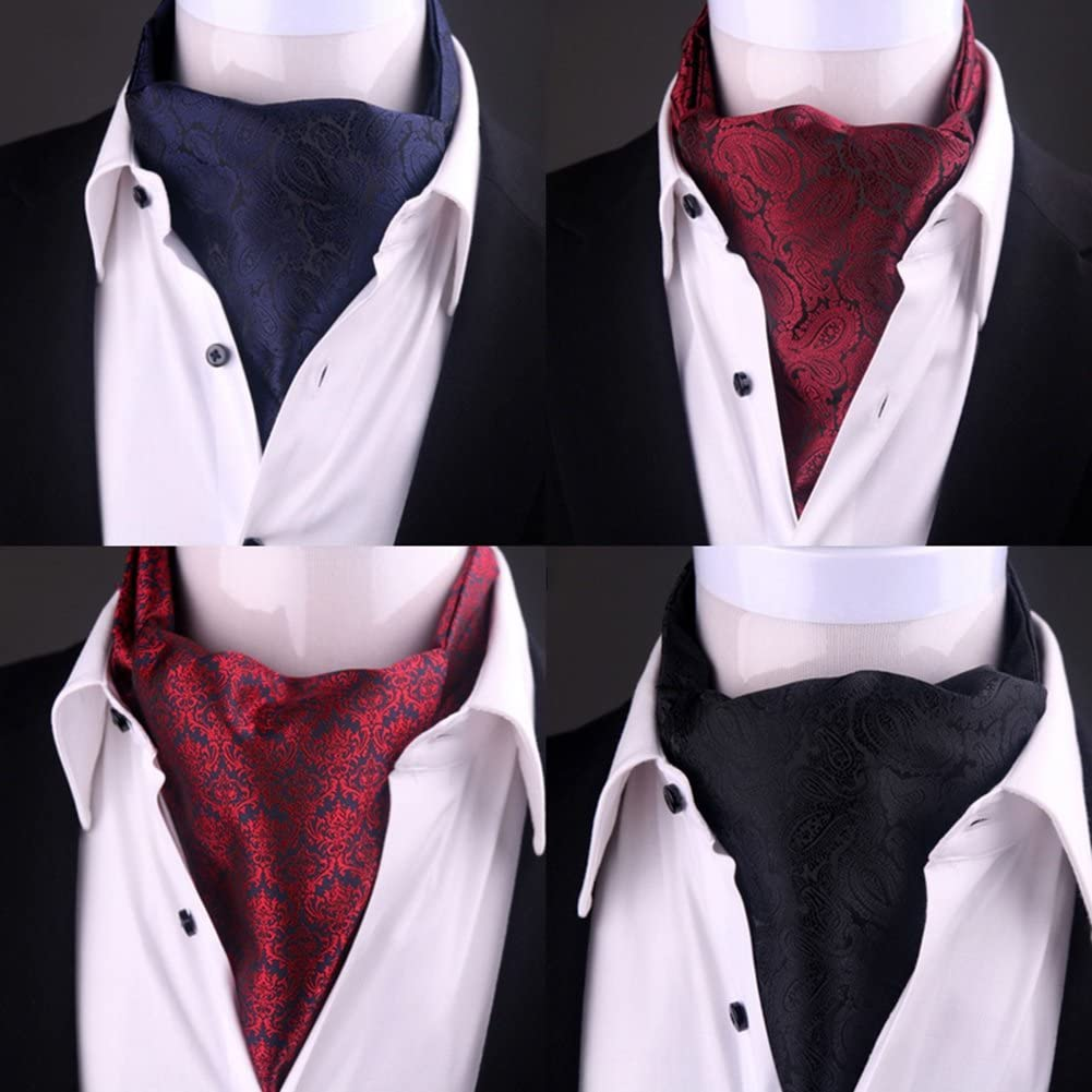 LIANGJUN Necktie Elegent Silk Cravat Men Shirt Scarf Wedding Office Formal Occasions, 120X15cm, 5 Types Available (Color : 5#)