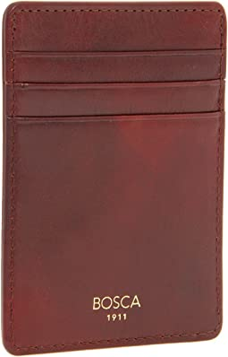 Bosca - Old Leather Collection - Deluxe Front Pocket Wallet