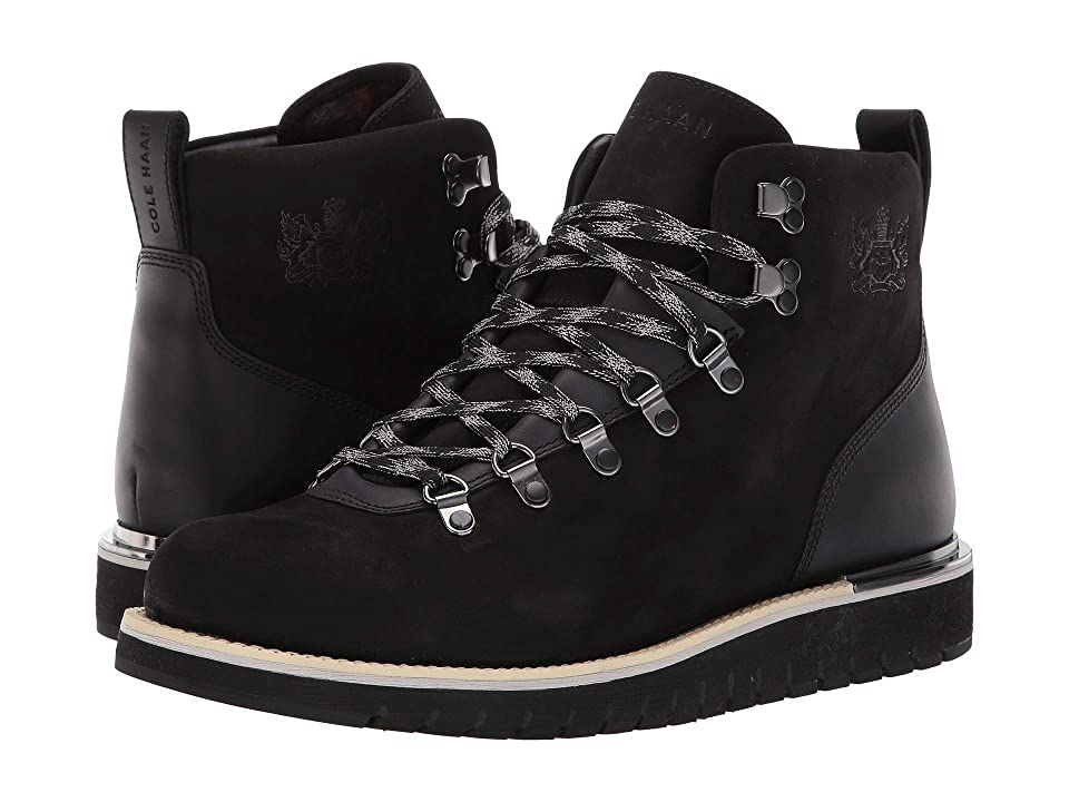 Cole Haan Grandexplore Alpine Hiker Waterproof (Black) Men