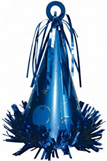 Amscan Party Hat Balloon Weight, Blue