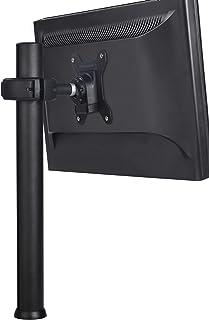 Spacedec Display Quick Shift Donut Pole Display Stand (Black) Short Black