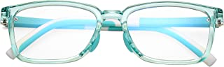 Kids Blue Light Blocking Glasses, Computer Eyeglasses for Pre Teens Age 5-15, Anti Glare & Eyestrain & Blu-ray Blocker