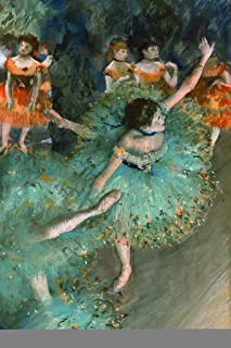 Edgar Degas The Green Dancer 1879 French Impressionist Painting Cool Wall Decor Art Print Poster 12x18