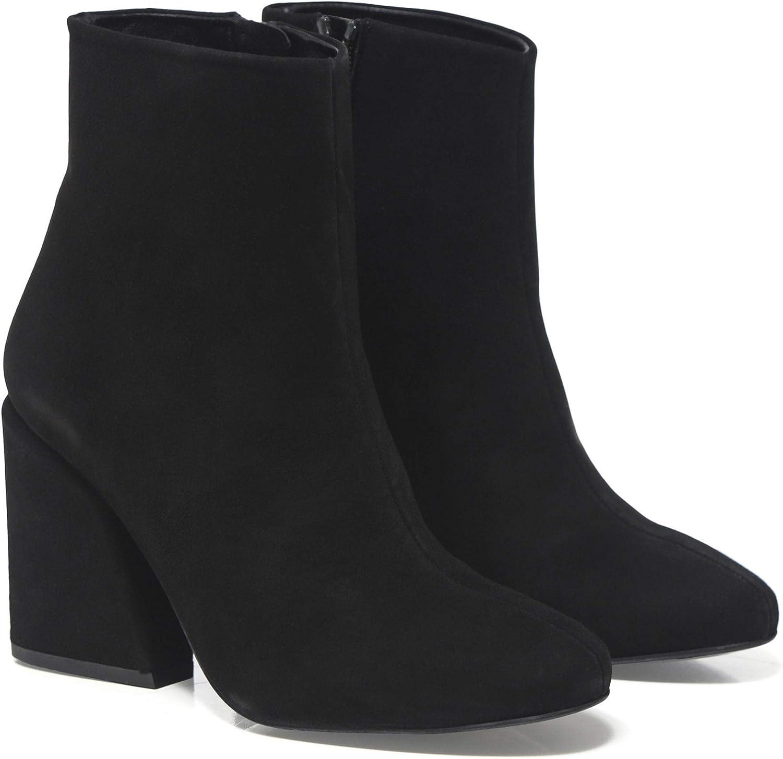 Kendall och Kylie skor Woherrar Woherrar Woherrar mocka Nova Ankle stövlar svart  erbjuder 100%