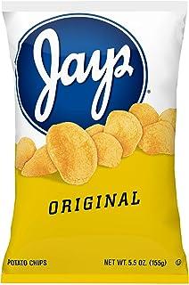 Jays Original Potato Chips, 5.5 Oz