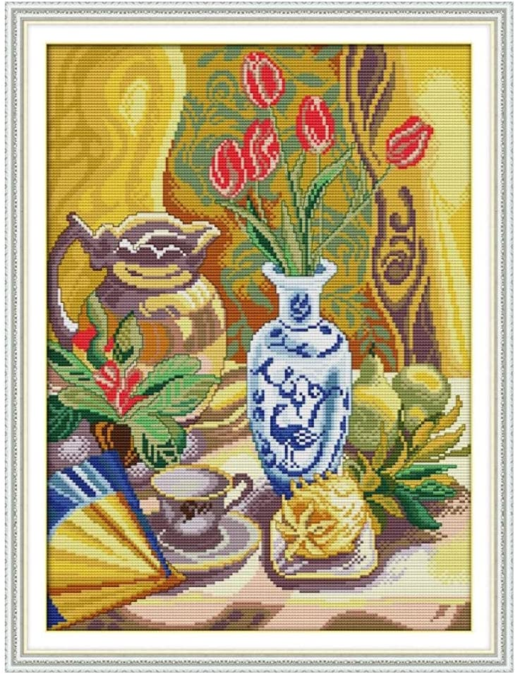Cross Stitch Kits Sale item Beginners Full Embroidery Range Starter Portland Mall of Kit