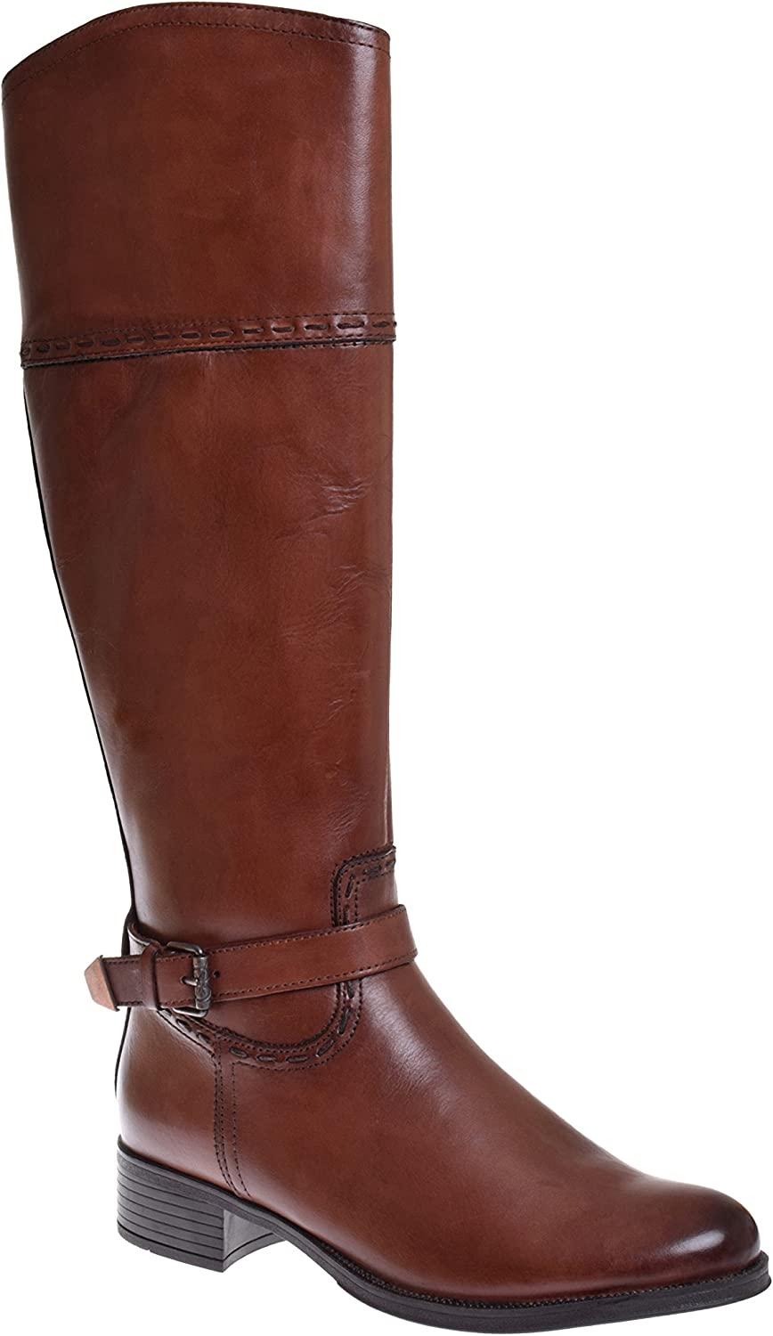 Bussola Singa Knee High Boot - Nevada Russett
