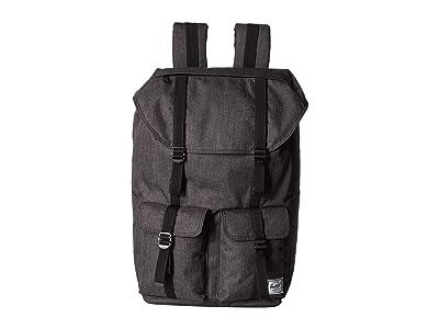 Herschel Supply Co. Buckingham (Black Crosshatch) Backpack Bags