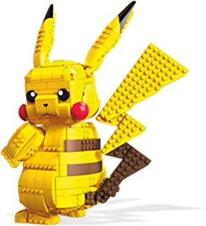 MegaConstrux FVK81 - Pokemon Jumbo Pikatchu 30 cm bouwset met 806 bouwstenen, speelgoed vanaf 8 jaar