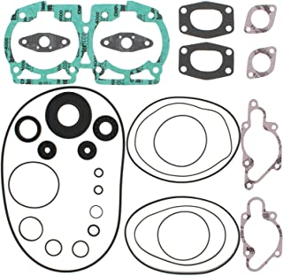 Complete Gasket Kit w/Oil Seals Replacement For Ski-Doo FORMULA 500/DLX LC 500cc 97 98 99 00