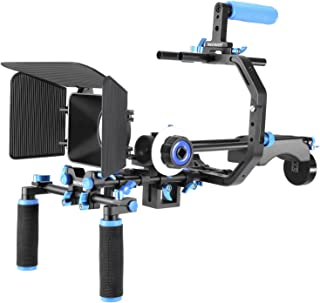 Neewer Kit de Película Cine Aluminio Sistema de Aparejo para Canon/Nikon/Pentax/Sony Y Otras DSLR Cámara s