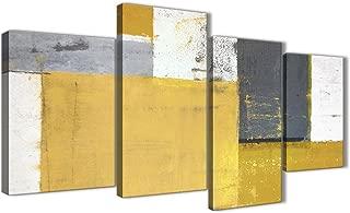 Best yellow gray wall art Reviews
