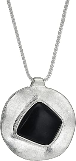The Sak - Irregular Stone Pendant 28