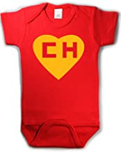 Chapulin Colorado Chespirito Spanish Funny Baby Onepiece Bodysuit Gift Red (6-12 Months (Medium))