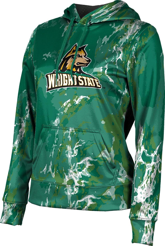 ProSphere Wright State University Girls' Pullover Hoodie, School Spirit Sweatshirt (Marble)