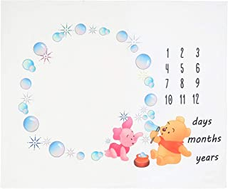 Picter Baby Monthly Milestone Blanket Photography Background Blanket Props for Newborn