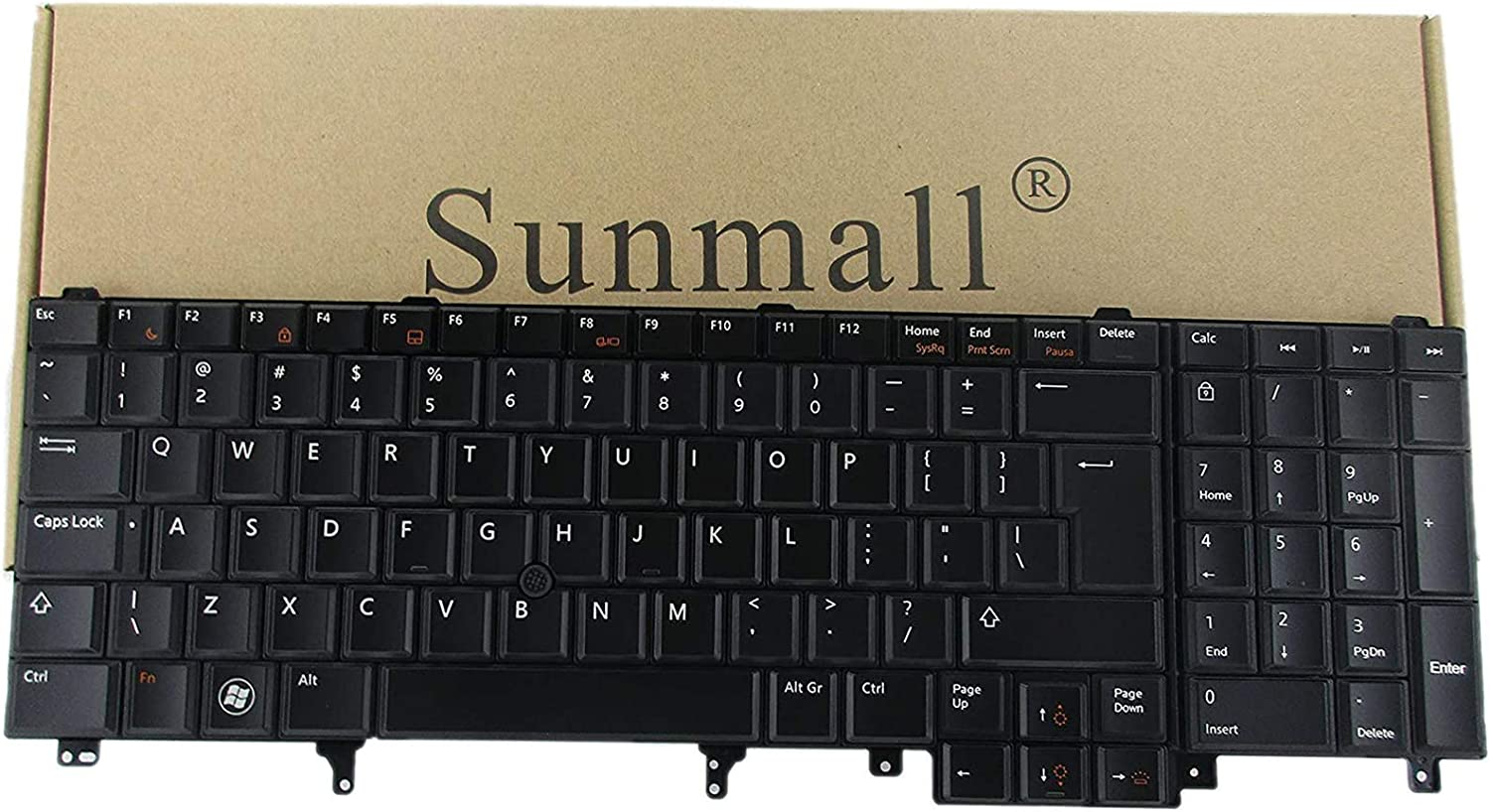 SUNMALL Replacement Keyboard with Memphis Mall Backlight and Compat Free shipping anywhere in the nation Pointer