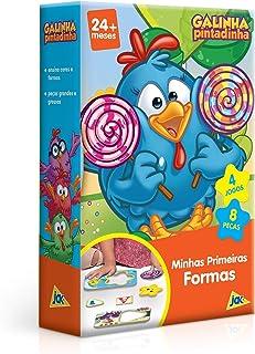 Galinha Pintadinha Mini - Quebra cabeça Minhas Primeiras Formas, Toyster Brinquedos