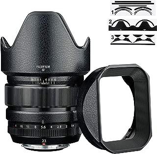 レザー保護フィルム Fujifilm XF 23mm F1.4 R レンズ オリジナルフード LH-XF23 適用