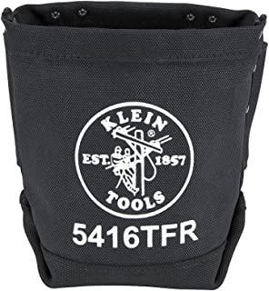 Bolt Bag, Flame Resistant Canvas Bag with Double Bottom and Tunnel Loop, 9-Inch Klein Tools 5416TFR