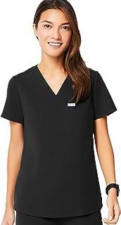 FIGS Catarina One-Pocket Scrub Top for Women – Slim Fit, Super Soft Stretch, Anti-Wrinkle Medical Scrub Top