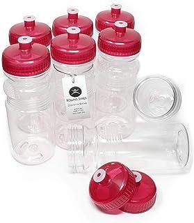 Rolling Sands BPA Free 20oz Drink Bottles (8 Pack, Made in USA)