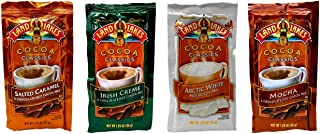 Land O Lakes Cocoa Classics Mix 4 Flavor 12 Pack Sampler Bundle, 3 each: Salted Caramel, Irish Creme, Arctic White, Mocha (1.25 Ounces)