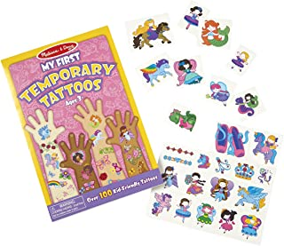 Melissa and Doug My First Temporary Tattoos Pink 2946 - Temporary Tattoos