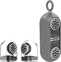KNZ GoDuo Portable Bluetooth True Wireless Speakers with Magnetic Connectable Base, L/R Stereo Sound and Bass, Water and S... photo