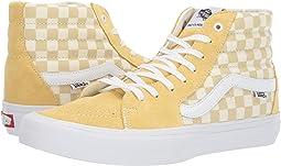 (Checkerboard) Pale Banana/Marshmallow
