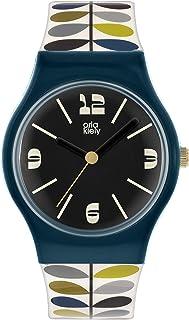 Orla Kiely Damski analogowy analogowy zegarek kwarcowy z plastikowym paskiem OK2340