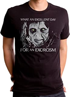 Exorcist Day Black Short Sleeve Men's Crew
