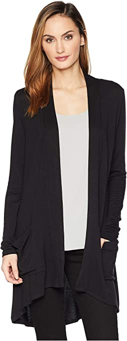 Mid Length High-Low Cardigan