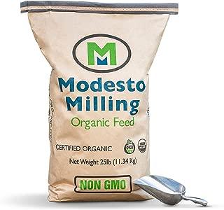 Modesto Milling Organic, Whole Grain Layer, 25 lbs; Item# 5067