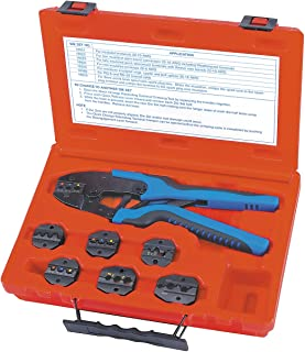 Sherman S&G Tool Aid 18960 Quick Change Ratcheting Terminal Crimping Kit