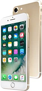 Apple iPhone 7, GSM Unlocked, 32GB - Gold (Renewed)
