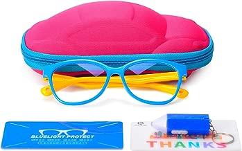 Blue Light Blocking Glasses for Kids, UV400 Protection,Anti Blue Ray Computer Game Glasses