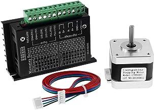 Twotrees Nema 17 Stepper Motor + Stepper Motor Driver, TB6600 4A 9-42V Nema 17/23 CNC Controller Single Axes Hybrid - Upgraded Version …