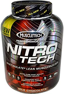 "Muscletech Nitrotech Performance Series Chocolate, 4 Pounds by ""USA SPORTS, LLC"""