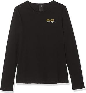 Sp10505 LS tee Camiseta de Manga Larga para Niñas