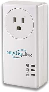NexusLink Powerline G.hn Powerline Adapter | Pass-Through Outlet | 1200Mbps (GPL-1200PT)
